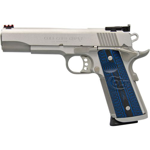 Colt Gold Cup Trophy 9mm Semiautomatic Pistol
