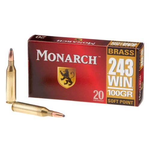 Monarch® SP .243 Winchester 100-Grain Rifle Ammunition - view number 1