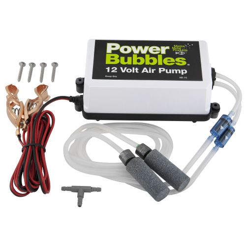 Display product reviews for Marine Metal Products Power Bubbles™ 12 VDC Air Pump