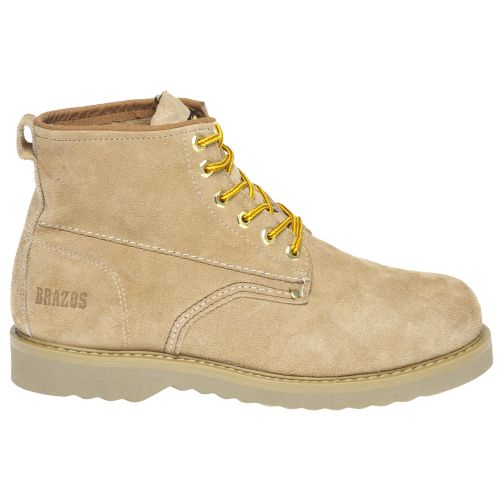 Brazos Men s 6  Roughout Work Boots