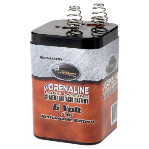 Image for Wildgame Innovations Trophy Hunter™ Wildlife Feeders 6 volt EDrenaline Lead-Acid Battery from Academy