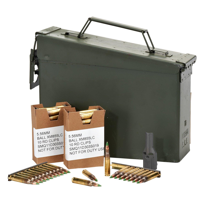 Display product reviews for Federal Premium® Ammunition 5.56 x 45mm 62 Grain FMJ Centerfire Rifle Ammunition