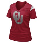 Nike Women's University of Oklahoma Football Replica T-shirt