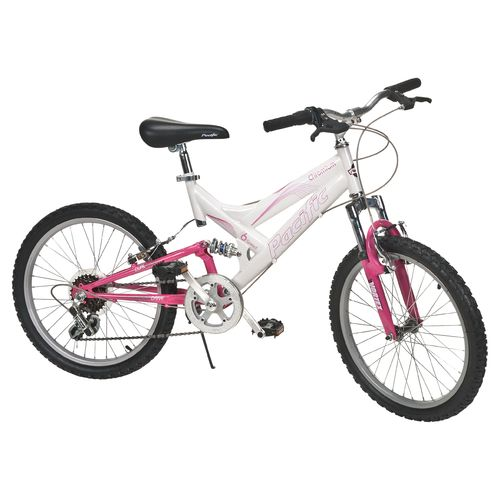 "Pacific Girls' Chromium 20"" 6-Speed Mountain Bicycle"