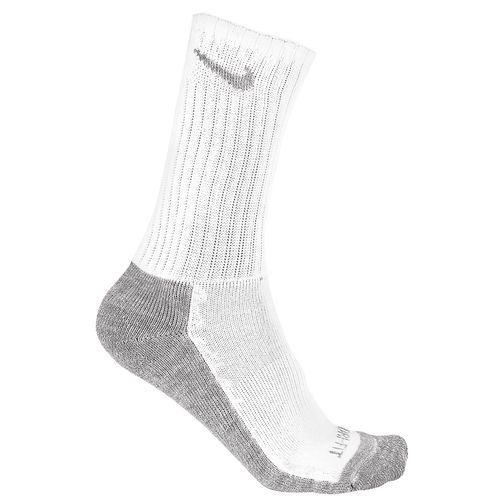Nike Adults' Dri-FIT Half Cushion Crew Socks 3-Pair