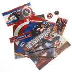 Captain America Boys' 11-Piece Activity Set