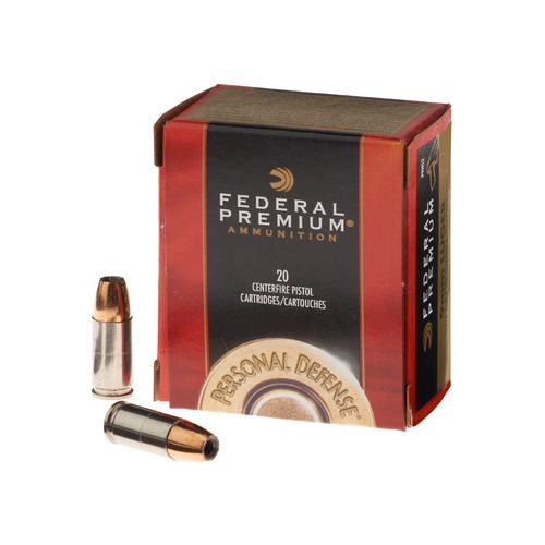 Federal Premium® Ammunition 9mm Luger 147-Grain Hydra-Shok® JHP Handgun Ammunition