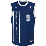adidas Men's Oklahoma City Thunder Serge Ibaka #9 NBA Revolution 30 Replica Jersey
