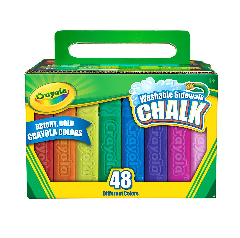 Crayola Sidewalk Chalk 48-Pack