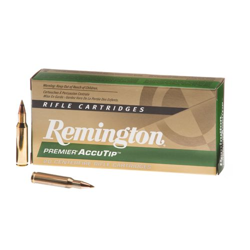Display product reviews for Remington Premier® AccuTip .222 Remington 50-Grain Centerfire Rifle Ammunition