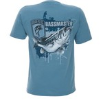 Club Red Men's Bassmaster Splatter Bass T-shirt
