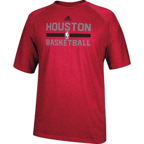 adidas™ Men's Houston Rockets climalite® Short Sleeve T-shirt