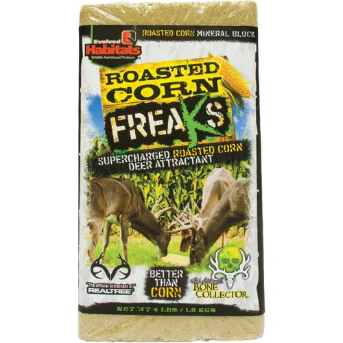 Evolved Habitats 4 lb. Roasted Corn Freaks Block Deer Attractant