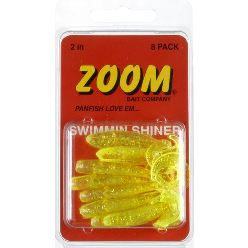 Zoom 2 in Swim N Shiner Baits 10-Pack
