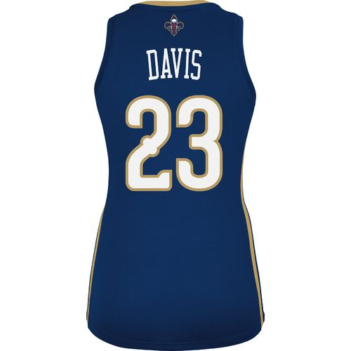 adidas Women's New Orleans Pelicans Anthony Davis No. 23 NBA Replica Jersey - view number 2