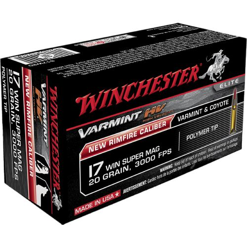 Display product reviews for Winchester Varmint HV .17 WSM 20-Grain Rimfire Rifle Ammunition