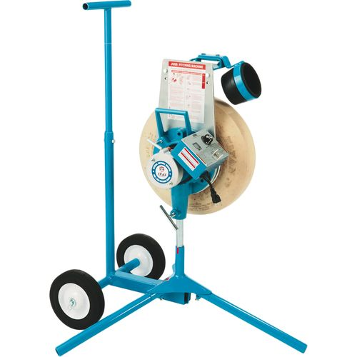 JUGS 1-Wheel Series Softball Pitching Machine with Cart