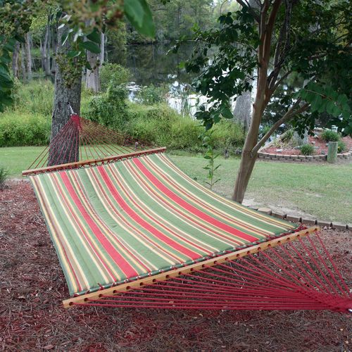 Image for Pawleys Island Trellis Quilted Hammock from Academy