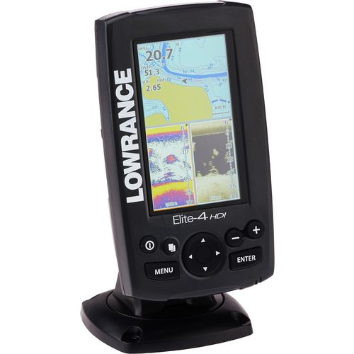 Lowrance elite 5 hdi fishfinder and gps combo with for Academy fish finder