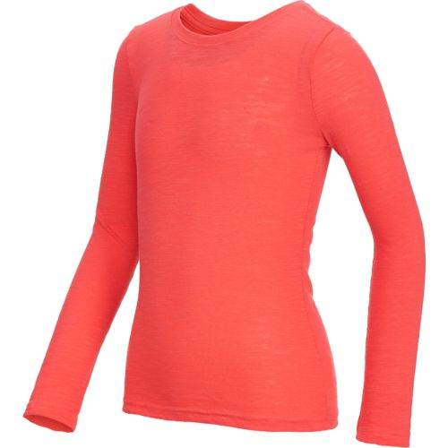 Display product reviews for BCG Girls' Basic Long Sleeve Cotton Jersey T-shirt