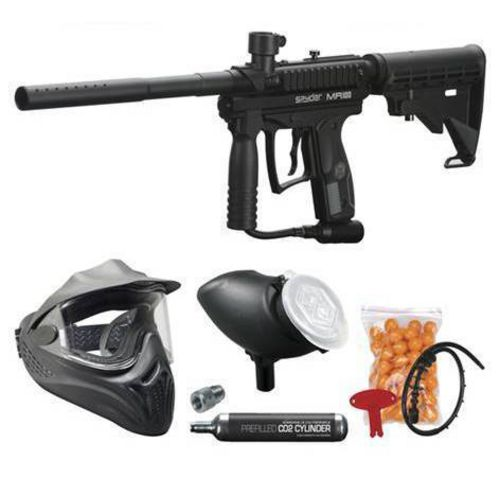 Spyder Aggressor RTP Paintball Marker Kit