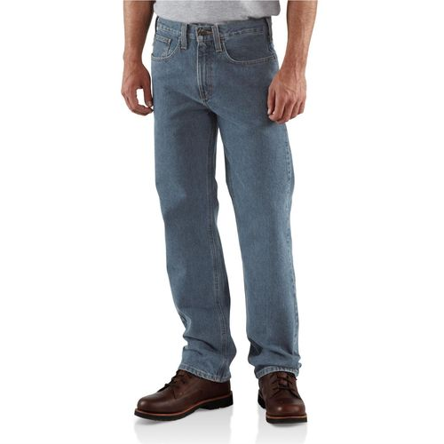 Carhartt Men's Traditional Fit Straight Leg Jean - view number 1