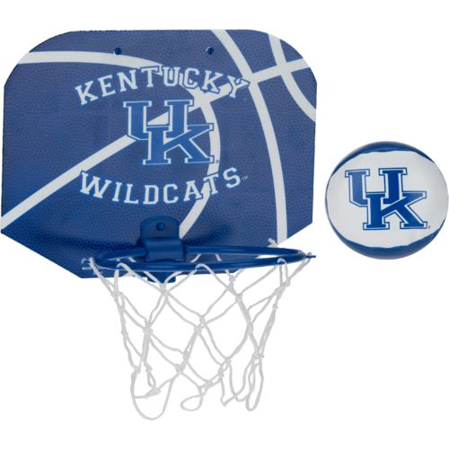 NCAA University of Kentucky Slam Dunk Softee Hoop Set