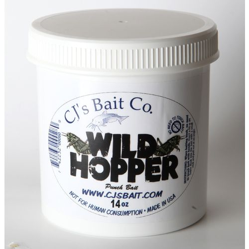 Display product reviews for CJ's Bait Company 14 oz. Wildhopper Bait