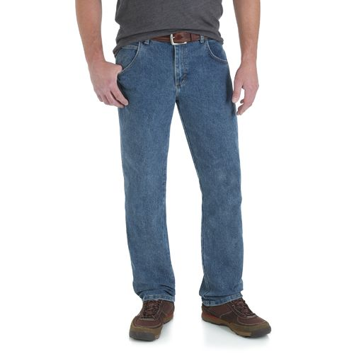 Wrangler® Men's Rugged Wear Advanced Comfort Regular Straight Jean