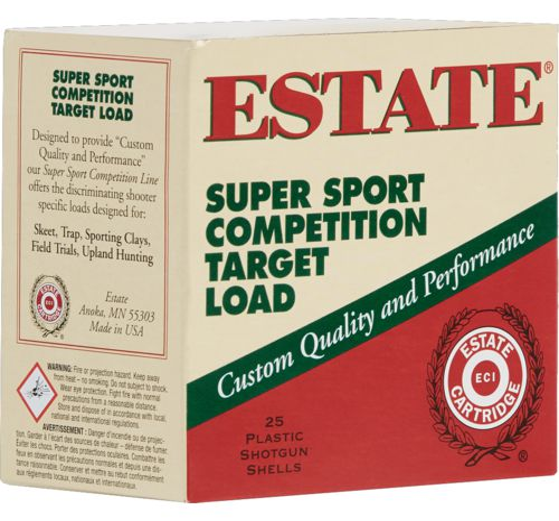 Display product reviews for Estate Cartridge Super Sport Competition Target Load 12 Gauge Shotshells