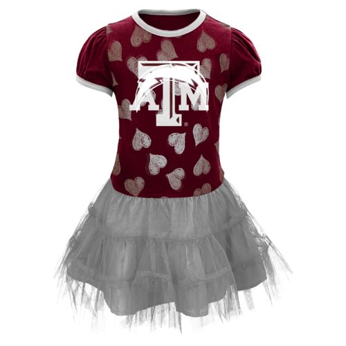 NCAA Toddler Girls' Texas A&M University Love to Dance Tutu Dress