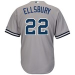 Majestic Men's New York Yankees Jacoby Ellsbury #22 Cool Base® Replica Jersey