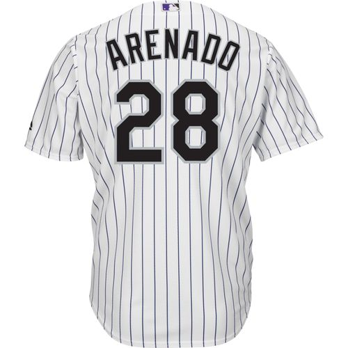 Majestic Men's Colorado Rockies Nolan Arenado #28 Cool Base® Jersey