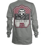 Three Squared Women's Texas A&M University Lollipop 2 T-shirt