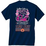 New World Graphics Women's Auburn University Cuter in Team T-shirt
