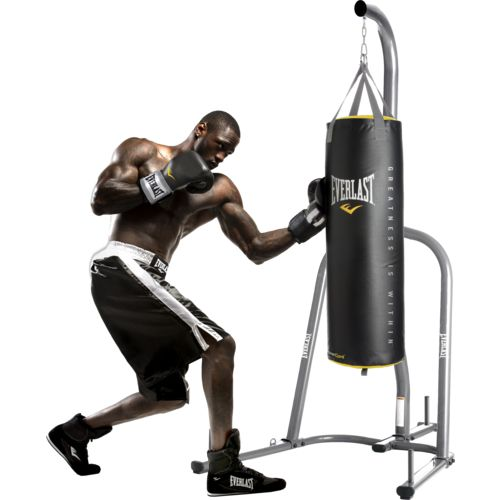 Everlast Powercore Stand and 100 lb. Heavy Bag