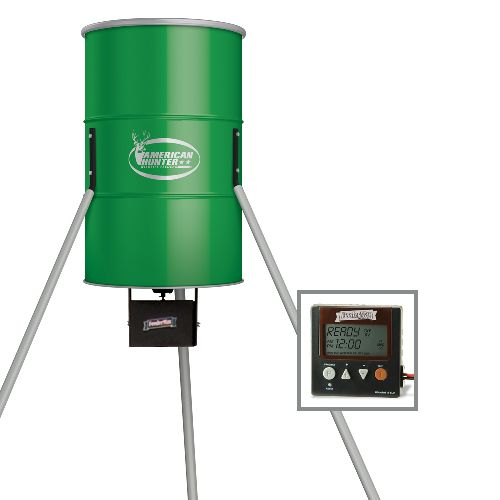 American Hunter 350 lb. Tripod Deer Feeder with Digital Timer