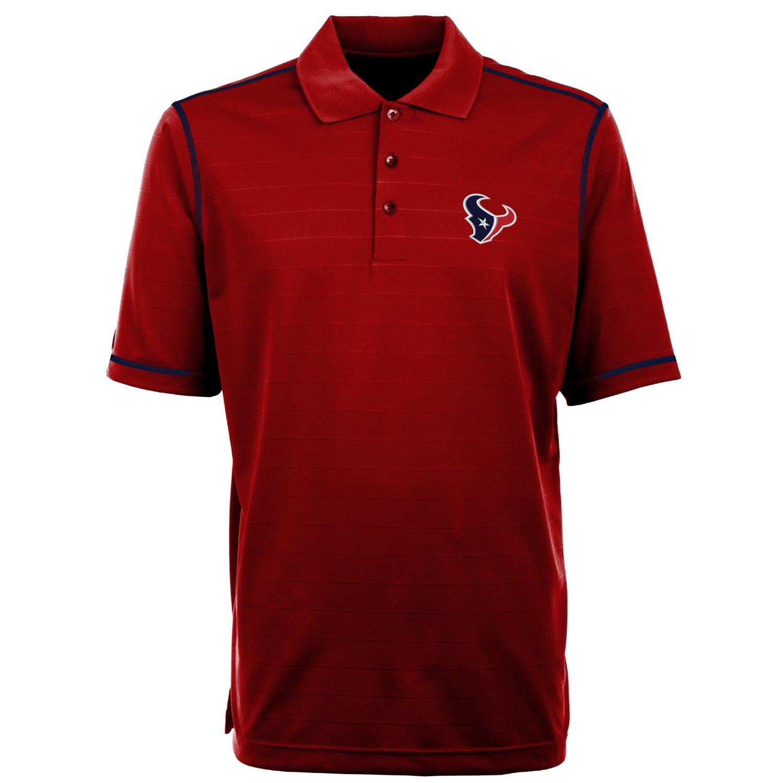 Antigua men 39 s houston texans icon polo shirt academy for Houston texans polo shirt