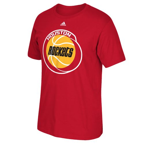 adidas™ Men's Houston Rockets Tip-Off Huge Preferred Logo T-shirt