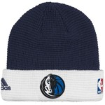 adidas Men's Dallas Mavericks Authentic Team Cuffed Knit Cap