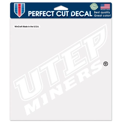 WinCraft University of Texas at El Paso Perfect Cut Decal