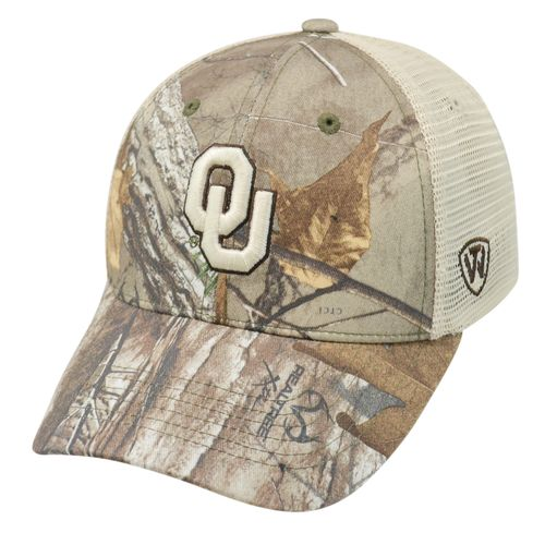 Top of the World Adults' University of Oklahoma Prey Cap