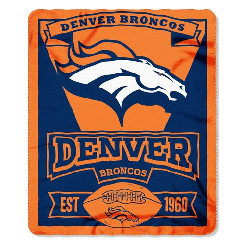 The Northwest Company Denver Broncos Marquee Fleece Throw