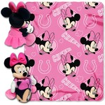 The Northwest Company Indianapolis Colts Minnie Mouse Hugger and Fleece Throw Set
