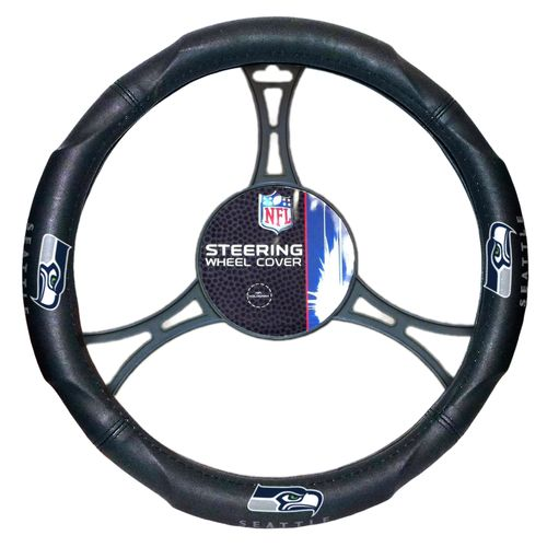 The Northwest Company Seattle Seahawks Steering Wheel Cover - view number 1
