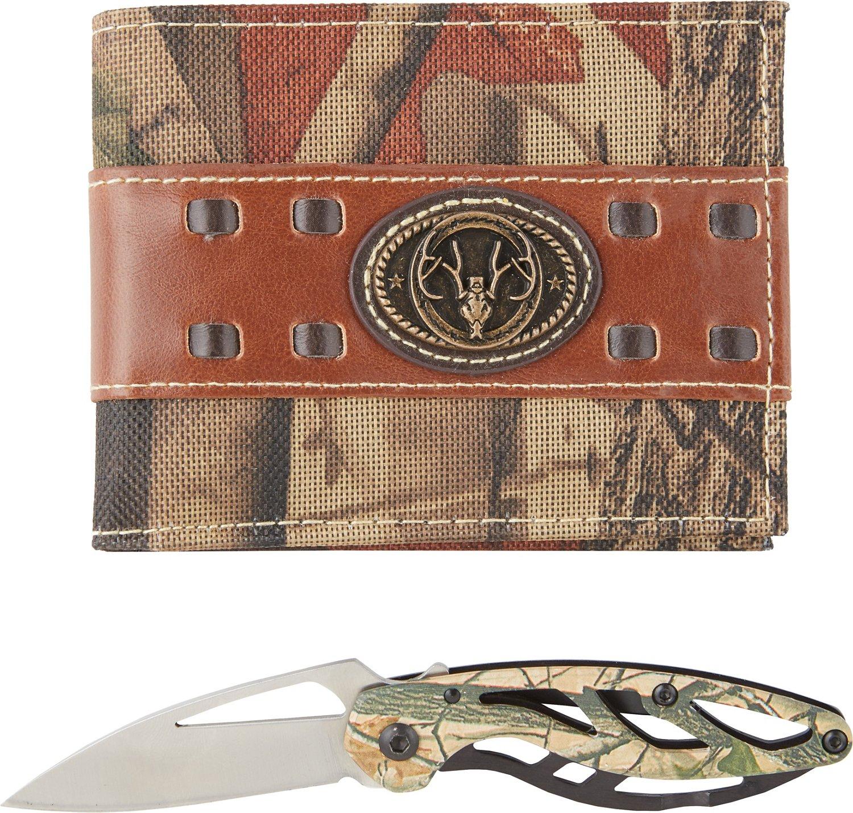 Magellan Outdoors™ Men's Bifold Wallet and Knife Combo