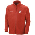 Columbia Sportswear Men's Clemson University Collegiate Flanker™ II Full-Zip Fleece Jacket - view number 1
