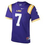 Nike™ Boys' Louisiana State University #7 Replica Football Jersey