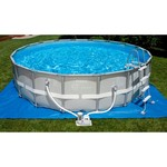"INTEX® 18' x 48"" Ultra Frame Pool Set with 1,500 Gal Filter Pump"