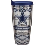 Tervis Dallas Cowboys Aztec Stripes 24 oz. Tumbler with Lid